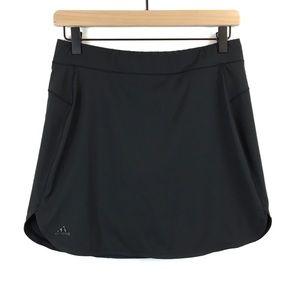 Adidas All Black Skort Tennis Golf Utility